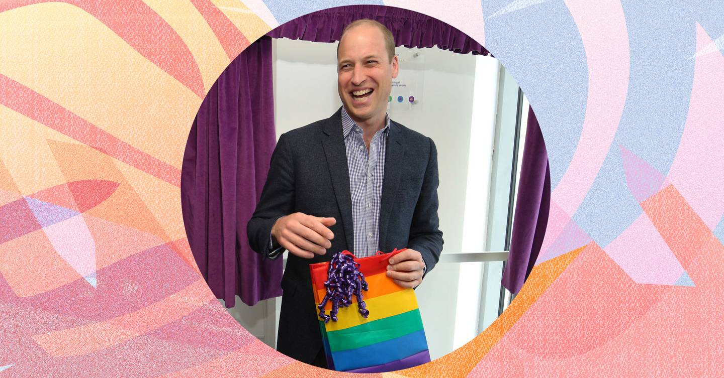 It's great Prince William is talking about having LGBTQ+ children BUT why are we still putting parents at the centre of coming out?