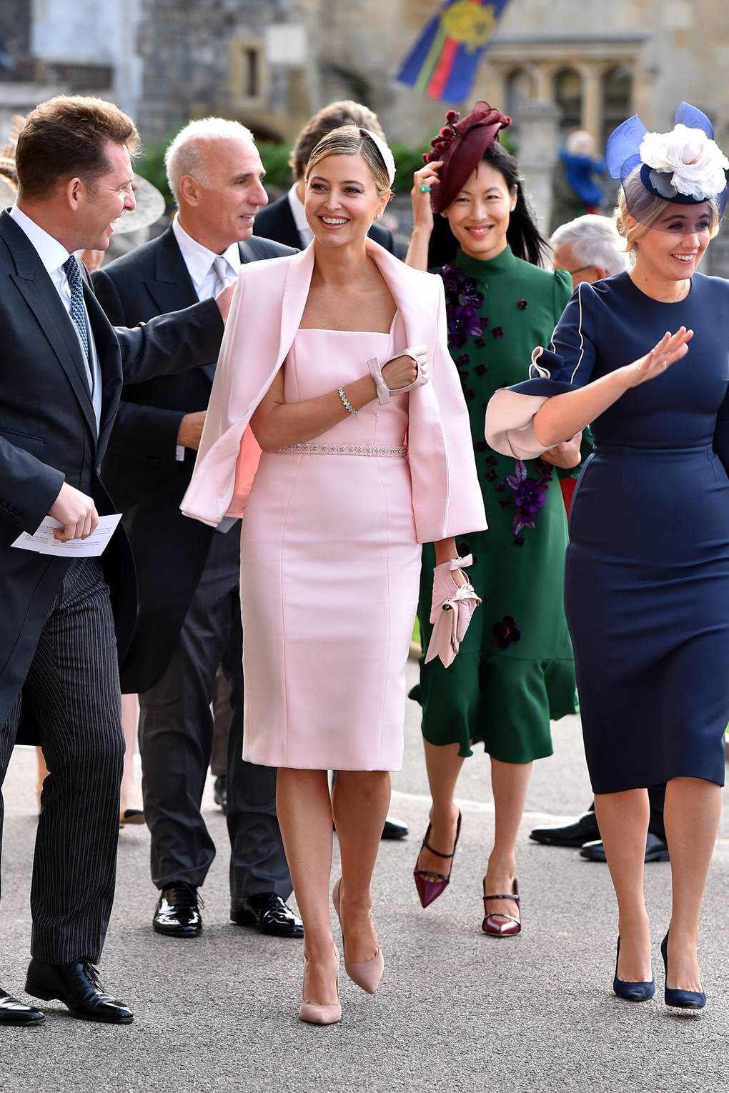 Royal Wedding Guests.Princess Eugenie Royal Wedding Best Dressed Guests From