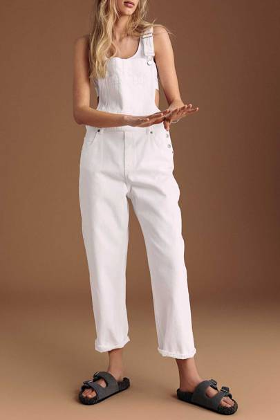 Best White Dungarees