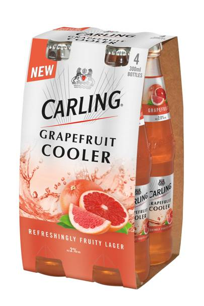 For Carling's Grapefruit Cooler