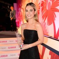 Next Breakthrough Award winner Lily James
