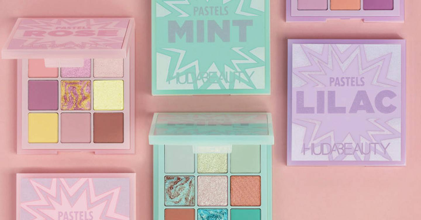 5 women test: Huda's Pastel Obsessions eyeshadow palette and here's what we thought
