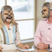 The time with the Chewbacca masks