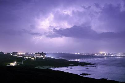 STORM WATCHING IN CORNWALL