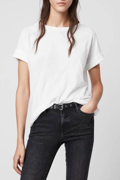 Best white t-shirt women: the boyfriend fit