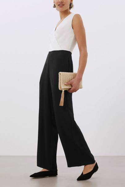 Best Wedding Guest Jumpsuits - Sleeveless Silk