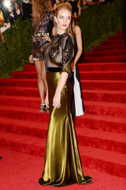 Rosie Huntington-Whiteley at the Met Gala