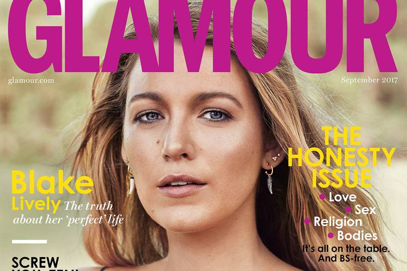 Blake Lively GLAMOUR September 2017 Cover Star