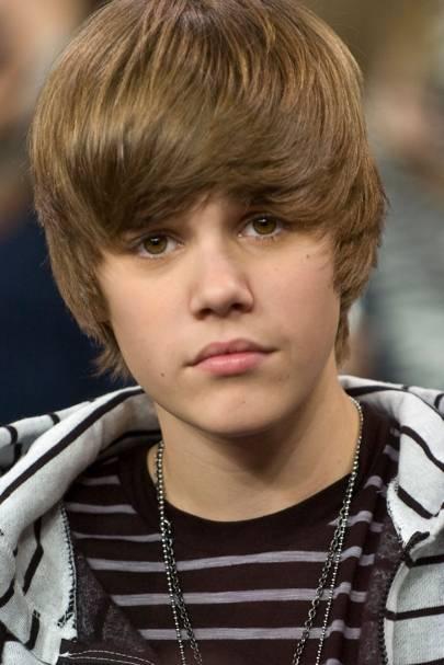 Justin Bieber was seven