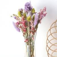 Dried flowers: pastel flowers