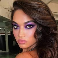 While the signature eyeshadow colour of the 80s decade is blue, Hung Vanngo gives every colour in his palette a workout. Lilac is a firm favourite, ...
