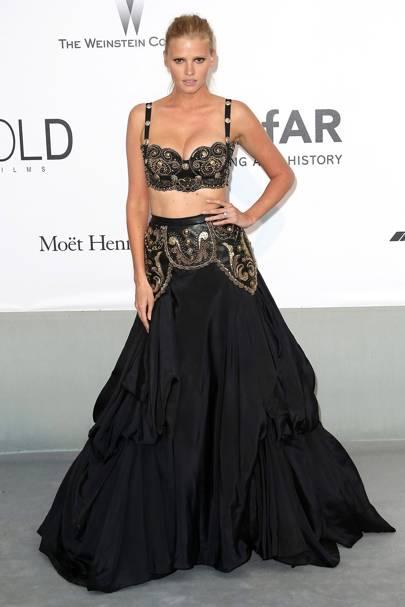 Lara Stone - Cannes 2014