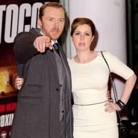 Simon Pegg & Maureen McCann