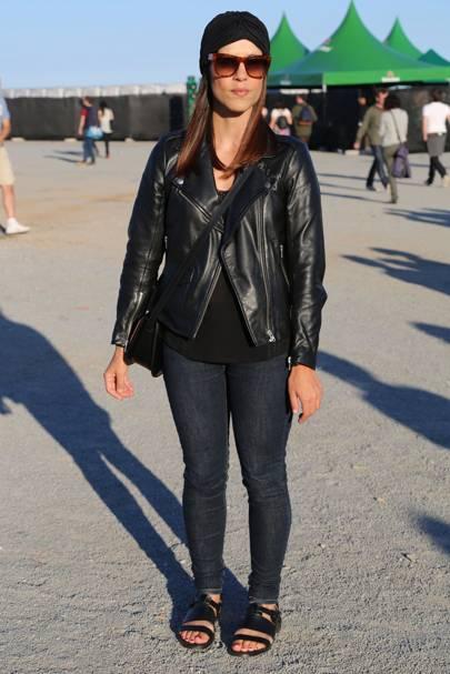 Ana, Shoe designer for Zara, Primavera Festival