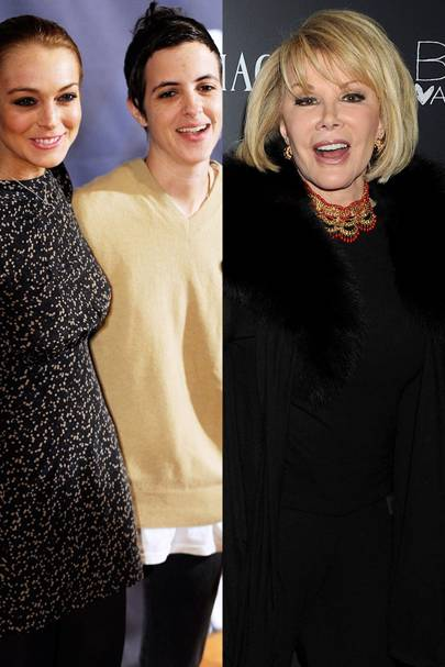 Samantha Ronson & Lindsay Lohan vs. Joan Rivers