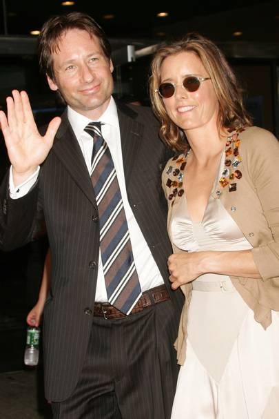 Téa Leoni & David Duchovny