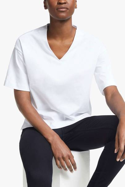 Best V neck t-shirts: John Lewis