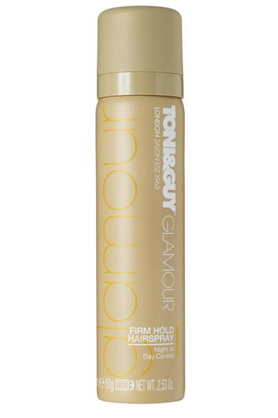 Toni&Guy GLAMOUR Firm Hold Hairspray