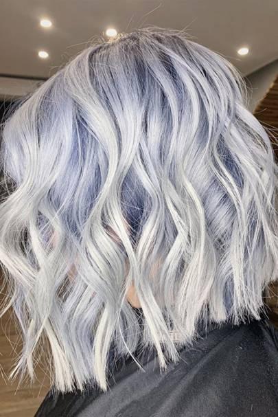 Icy Tones hair