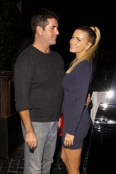 Simon Cowell & Carmen Electra