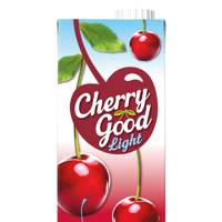 For vodka and Cherrygood Light