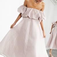 Best blush ASOS wedding dress