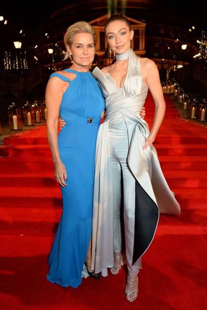 Yolanda & Gigi Hadid
