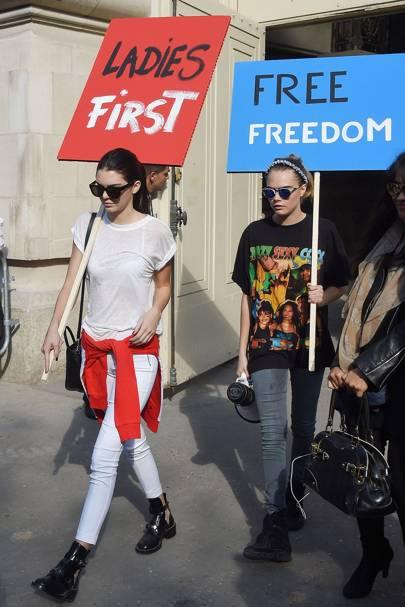 Kendall Jenner & Cara Delevingne