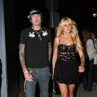 Kimberly Stewart and Tommy Lee