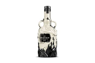 Kraken Black Spiced Rum (limited edition bottle)