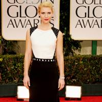 Claire Danes at the Golden Globes 2012