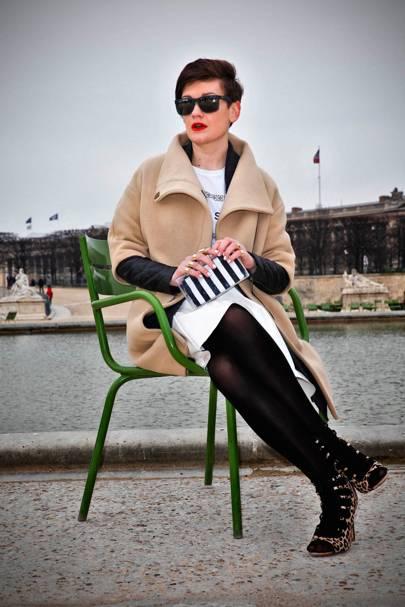 Ivelina, Blogger, Paris
