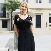 Phoebe's gothic look