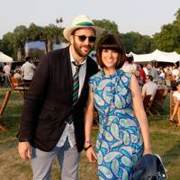 Chris O'Dowd and Dawn O'Porter at the Barclaycard British Summer Time Concert