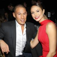 Stacy Keibler and Jared Pobre