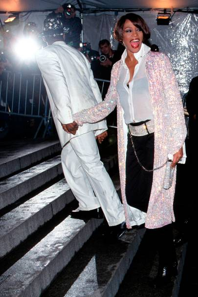 Whitney Houston and Bobby Brown, 1999