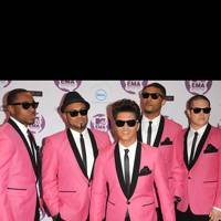 Bruno Mars at the MTV EMAs 2011