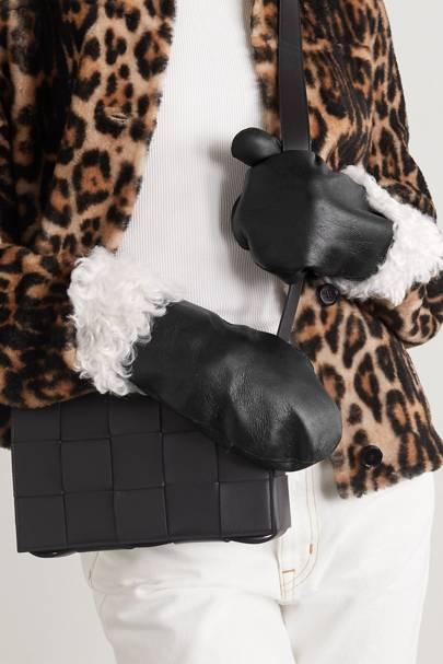 Best shearling winter gloves for women