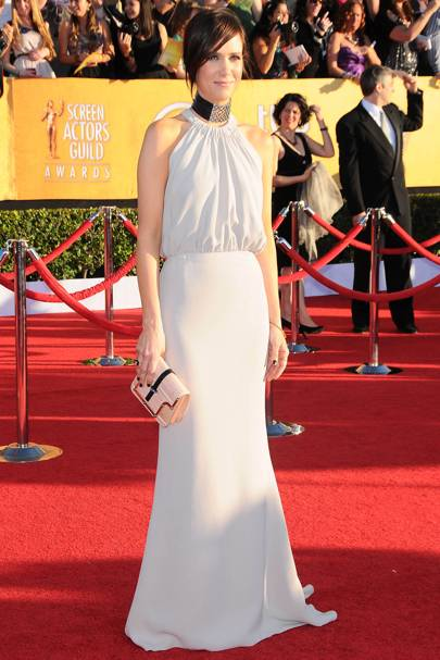Kristen Wiig at the SAGs 2012