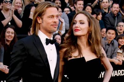 Angelina Jolie and Brad Pitt, 2012