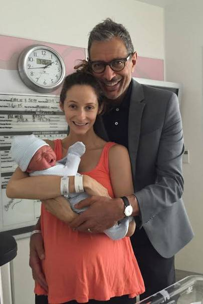 Jeff Goldblum & Emilie Livingston