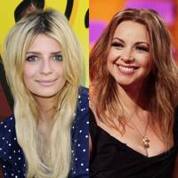 Charlotte Church and Mischa Barton