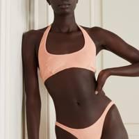 Summer 2021 Towelling Trend - Halterneck Bikini