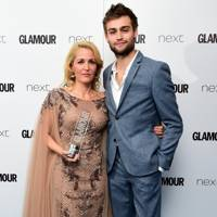 Gillian Anderson and Douglas Booth