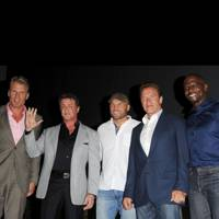 The Expendables at Comic-Con 2012