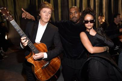 Paul McCartney, Kanye West & Rihanna