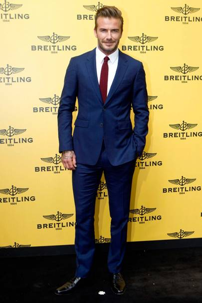 Best Dressed Man: David Beckham