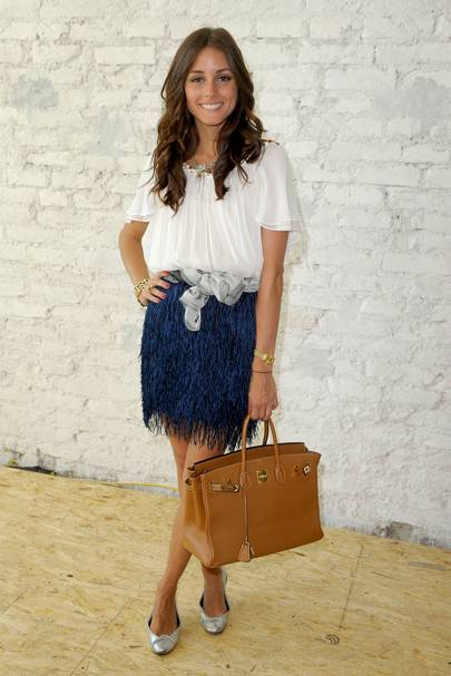 DO #3: Olivia Palermo at Berlin Fashion Week, July