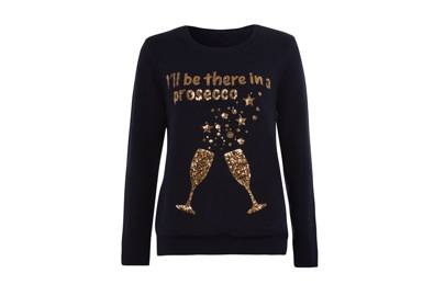 Oh look, another prosecco-inspired jumper...