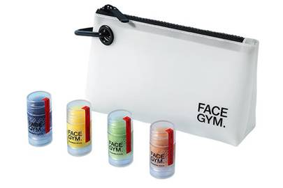 Gift for gym lovers: the Facegym set